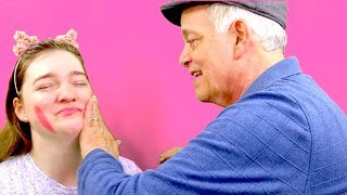 [Brooklyn] Dad Does My Makeup