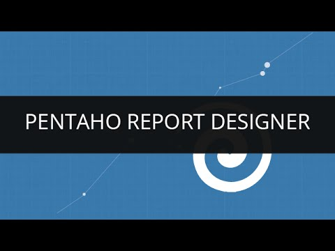 Understanding Basics Of Pentaho Report Designer(PRD) | Pentaho Report Designer Tutorial - 1