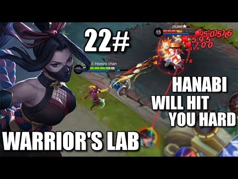 WARRIOR'S LAB #22 HANABI'S CORE GEAR AND SKILL TEST