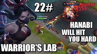 WARRIOR'S LAB #22 HANABI'S CORE GEAR AND SKILL TEST