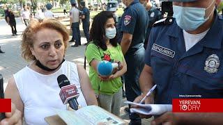 Մաշտոցի պուրակից 4 քաղաքացի բերման է ենթարկվել ոստիկանության բաժին