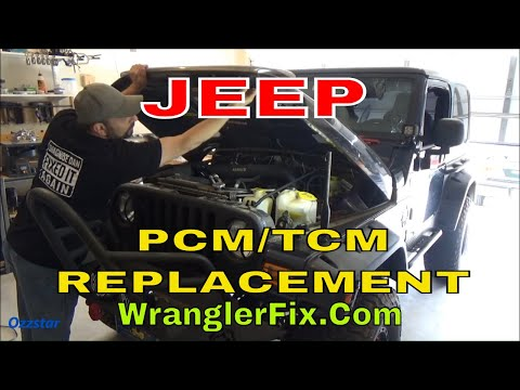 Jeep Wrangler TJ PCM/TCM replacement FIX P1603 P1604 P0700