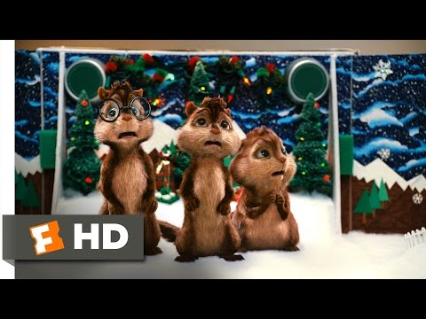 Alvin and the Chipmunks (3/5) Movie CLIP - Christmas Don't Be Late (2007) HD