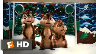 Alvin and the Chipmunks (3/5) Movie CLIP - Christmas Don