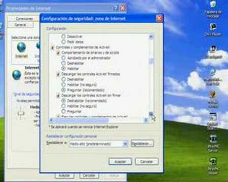 solucionar problemas de descargas de internet explorer