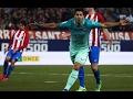 اهداف برشلونة واتلتيكو مدريد 2-1