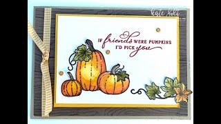 Friday Live Pretty Pumpkins!