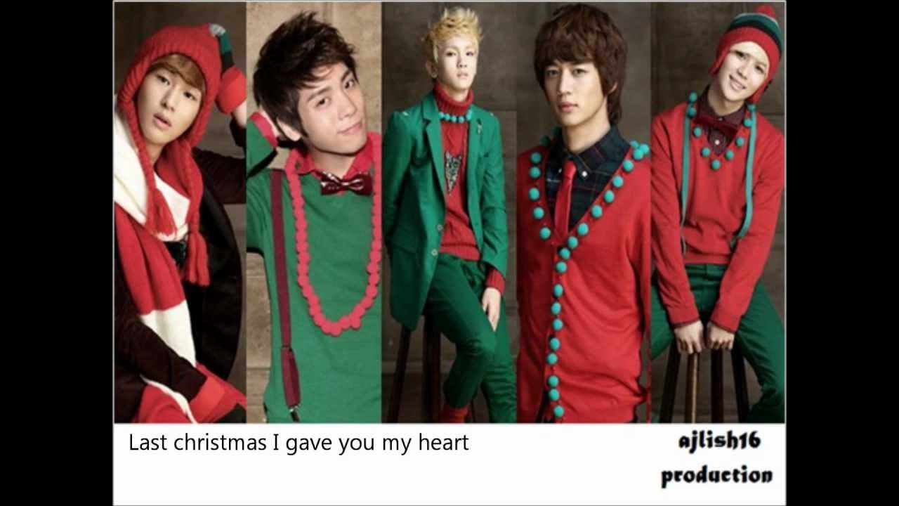 [Lyrics] SHINee ~ Last Christmas - YouTube