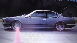 BMW 635 800 HP vs Porsche 996 Turbo 600+ HP x 2 races