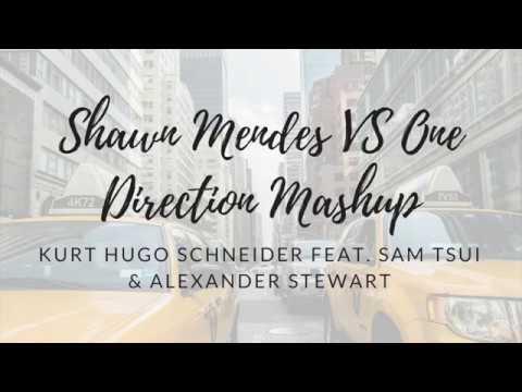 KHS - Shawn Mendes VS One Direction Mashup ft. Sam Tsui & Alexander Stewart (Lyrics)