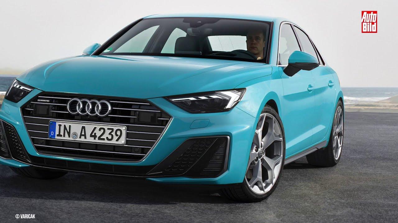 Zukunftsaussicht Audi A4 Facelift 2019 Details Erklärung Auto