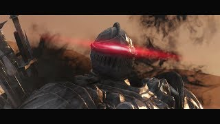 Dark Souls 2 - Boss Fight - The Pursuer (Trick for Easy Win)