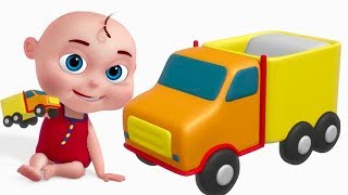 Toy Truck Assembly | Vehicle Construction | Street Vehicles | Videos For Toddlers |Trucks For Kids