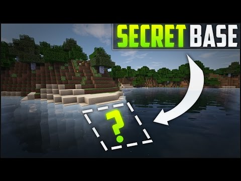 Minecraft: How To Build A Secret Base Tutorial (#4)