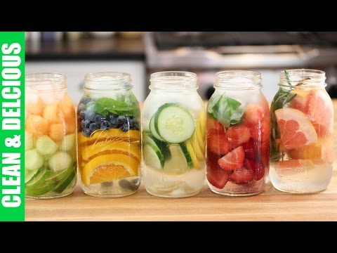 5 Refreshing Fruit Infused Waters | Clean & Delicious