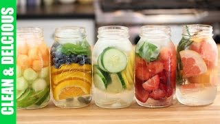 5 Refreshing Fruit Infused Waters   Clean & Delicious