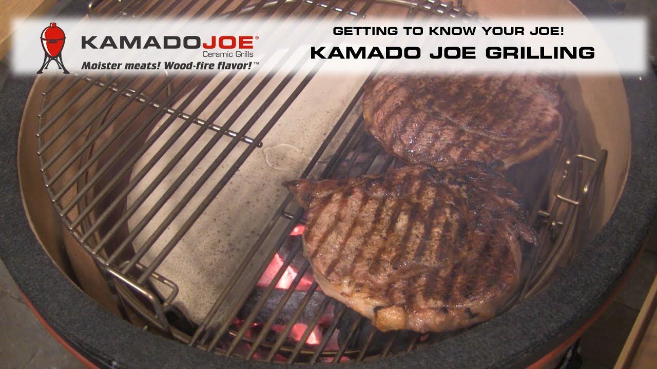 Kamado Joe - Grilling
