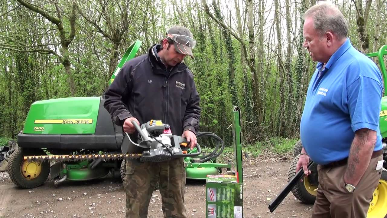 Inredning häcksax test : Ryobi RHT2660DA Hedge Trimmer Product Review - YouTube