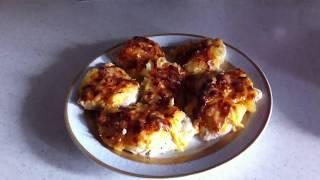 Куриная грудка с ананасом , под сырной шубкой👌☘ ( видео N 6 )