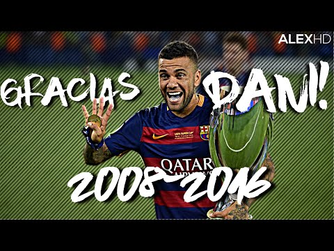 Dani Alves Tribute ● GoodBye FC Barcelona ● Skills, Goals, Assists ● 2008-2016 |HD