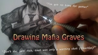 Drawing Mafia Graves - League of Legends Drawings
