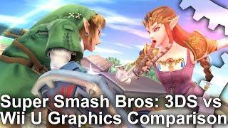 Super Smash Bros: 3DS vs Wii U Comparison