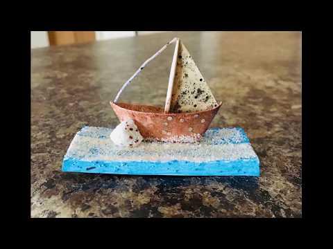 DIY Mini Paper Boat