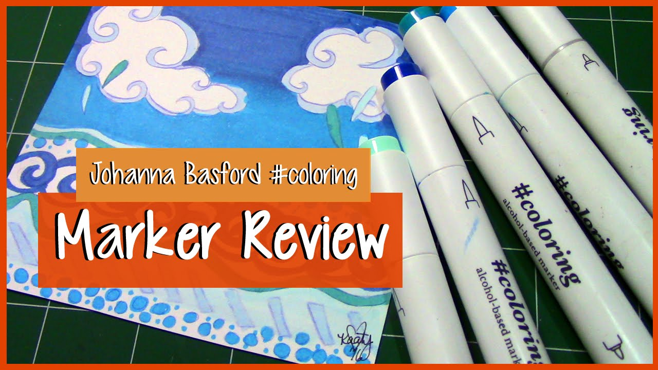 COLORING ALCOHOL MARKERS ~ Review + Demo ~ Marker Illustration - YouTube