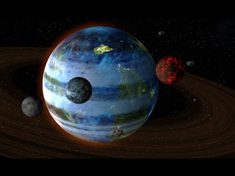 Creation of a habitable planet (universe sandbox 2)