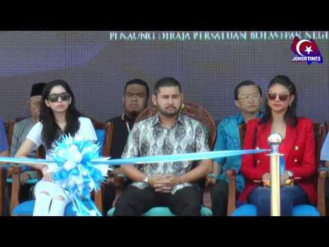 Majlis Pecah Tanah Bandar Sukan JDT