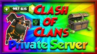 *NEW* Clash Of Clans Private Server (NO ROOT) APK/MOD, Unlimited Gems/ Gold