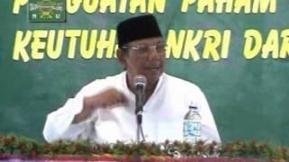 Pidato KH. Hasyim Muzadi - Penguatan Paham ASWAJA Untuk Menjaga Keutuhan NKRI (2007)