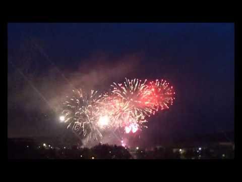 Fireworks Pyro Power 2016 Riga Bikernieki Latvia