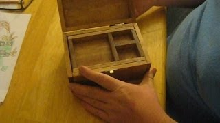 Make Your Own Small Wooden Jewelry Box.