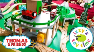 Thomas and Friends | Thomas Train with Brio Parking Garage and KidKraft | Fun Toy Trains for Kids