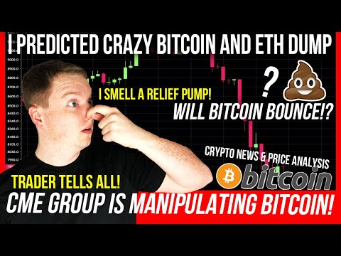 HORRIFIC BITCOIN DUMP! NEXT BITCOIN PRICE PREDICTION! ETHEREUM TO THE MOON? ETH & BTC TA