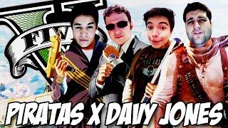 GTA V - Piratas CONTRA Davy Jones
