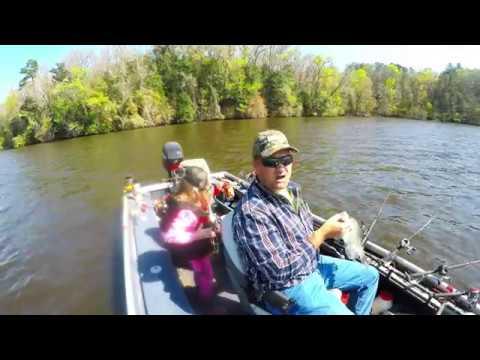 2017 spring break crappie fishing in lake talquin part 1 for Lake talquin fishing report