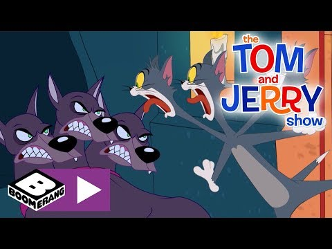 the-tom-and-jerry-show-|-three-headed-dog-|-boomerang-uk-🇬🇧