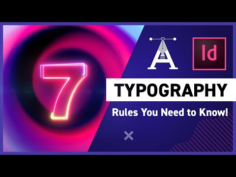 7 Typography Rules You Need to Know