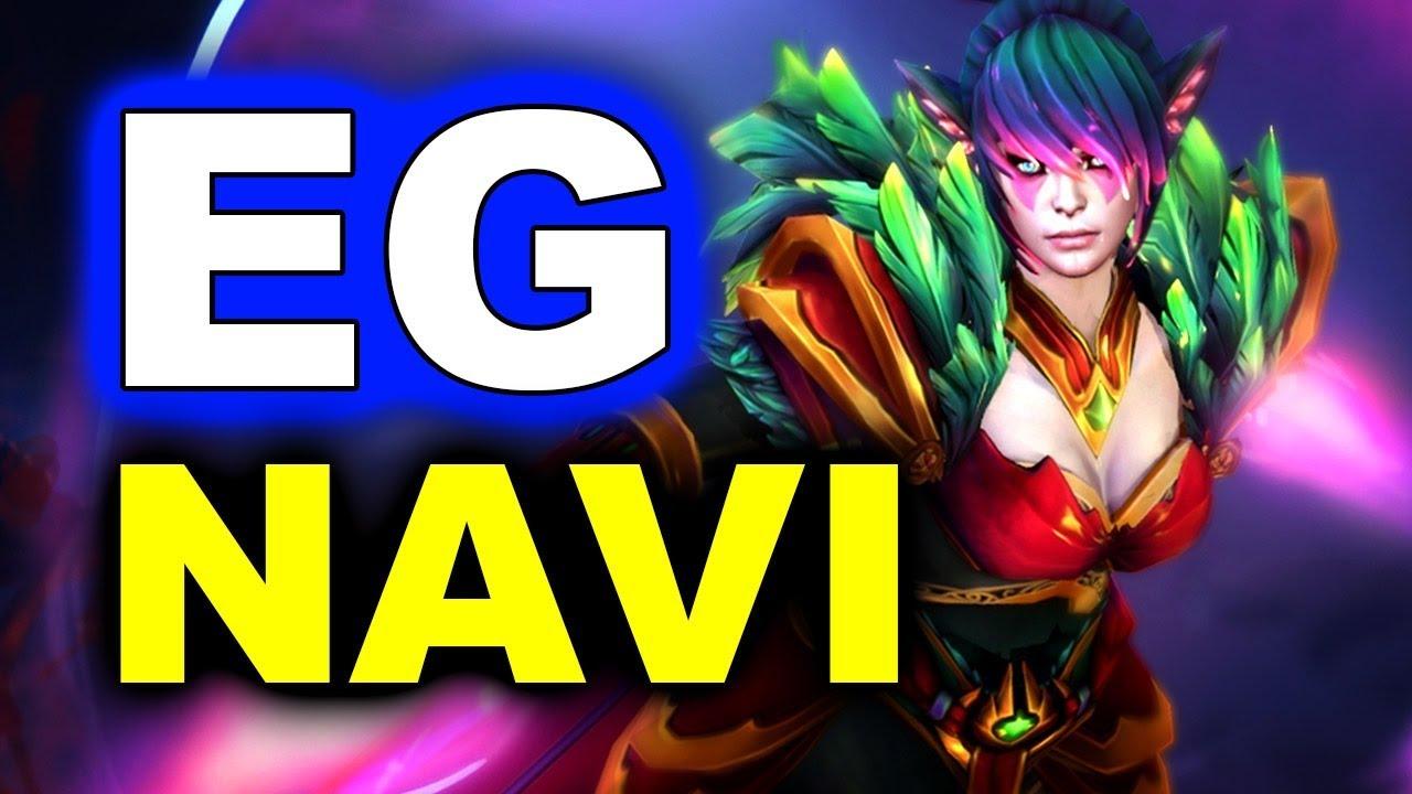 EG vs NAVI - IMPRESSIVE - LEIPZIG MAJOR DreamLeague 13 DOTA 2 thumbnail