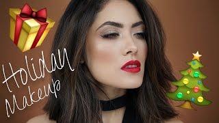 Soft Glittery Holiday Makeup | Natasha Denona Star Palette | Melissa Alatorre