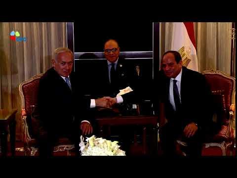 PM Netanyahu meets Egypt President el-Sisi