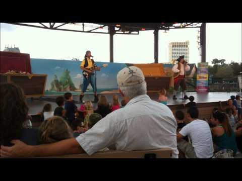 The Never Land Pirate Band Live in Concert at Downtown Disney
