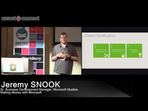 Making Money with Microsoft | Jeremy SNOOK