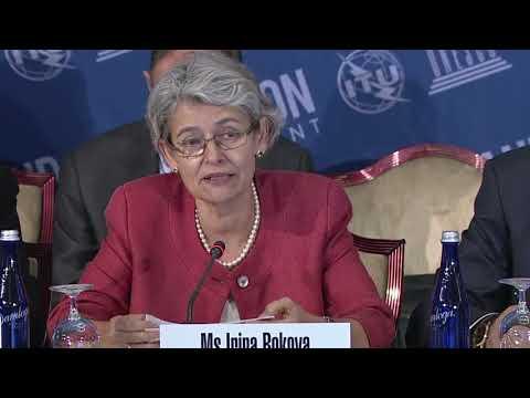Irina Bokova: Opening Remarks - Broadband Commission Meeting, September 2017