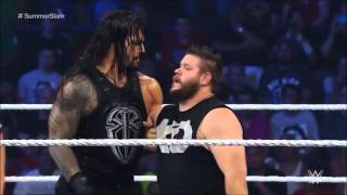 Roman Reigns humiliates Kevin Owens: WWE SmackDown, August 20, 2015