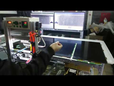 LED LCD TV Panel Repair Machine  TAB COF Bonding Machine For Flex Cable Repair