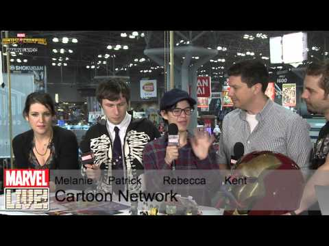 Melanie Lynskey, Patrick McHale, Kent Osborne, Rebecca Sugar Talk About Past Comic Cons at NYCC 2014