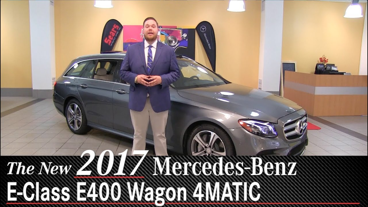 Review New 2017 Mercedes Benz E400 Wagon
